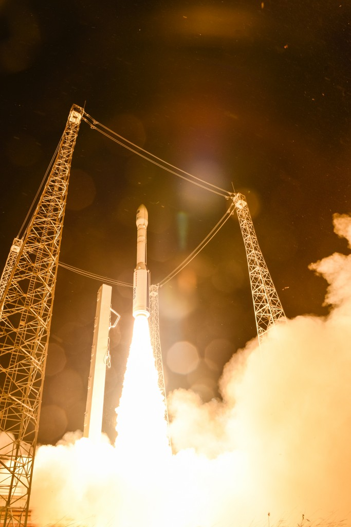 Sentinel-2A liftoff (Credits: ESA–M. Pedoussaut, 2015)