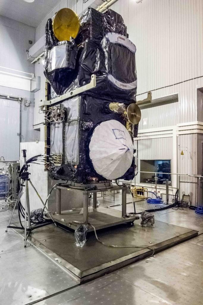 Sentinel-3A takes a nap. (ESA)