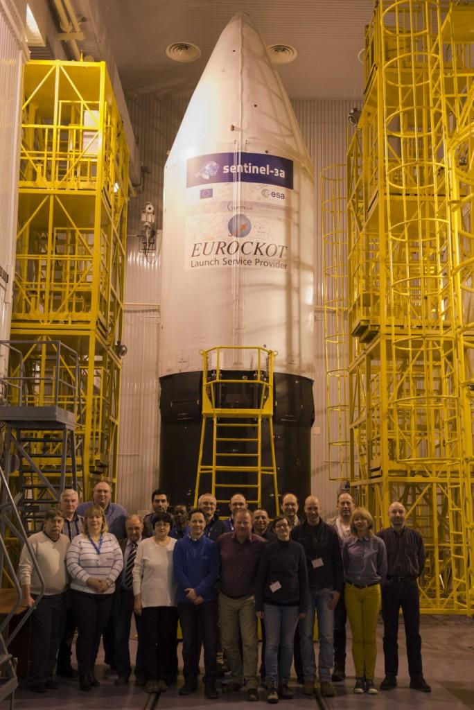 Team ready to roll. (ESA)