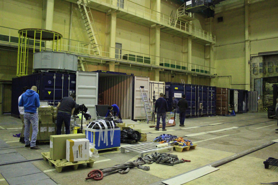 Packing up. (ESA)
