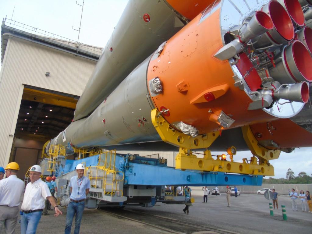 Soyuz - a big beast. (ESA)