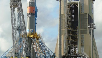 Close to the launch pad. (ESA)