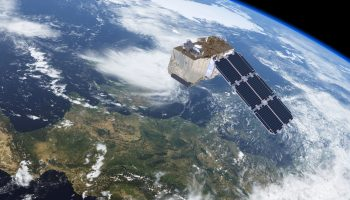 Sentinel-2 carries a high-resolution multispectral optical imager to monitor changes in vegetation for Europe's environmental monitoring Copernicus programme. Credit: ESA/AOES Medialab