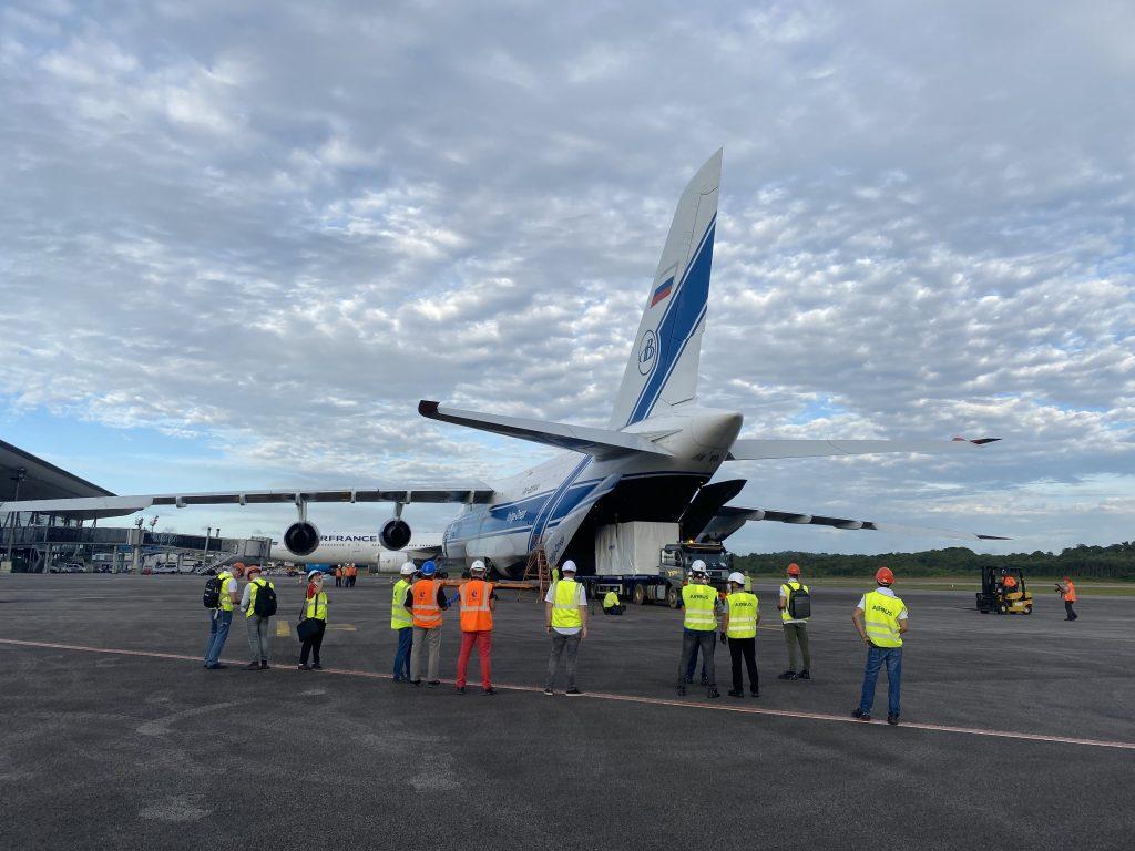 SEOSAT-ingenio arrives in Kourou