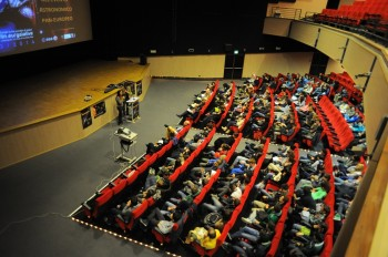 Students following 'Gaia Live in School' event