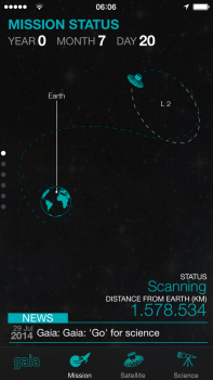 Screenshot of Gaia App