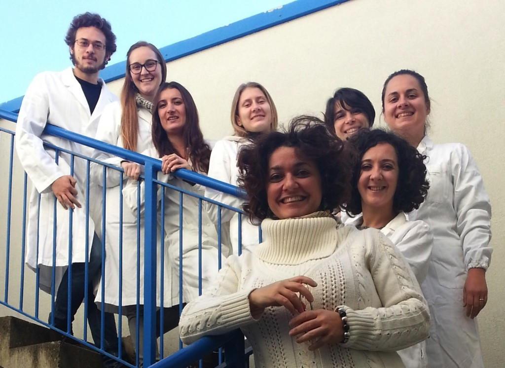 The team behind Endothelial Cells: Cancer Molecular Genetics Unit, 2015 Institute of Life Sciences, Scuola Superiore Sant'Anna, Pisa, Italy
