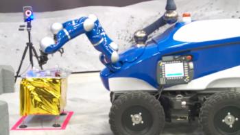 Centaur robot during interact experiment. Credits: ESA