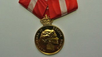Medal awarded to Andreas.