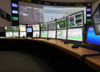 Many monitors for monitoring Columbus. Credits: ESA–J. Harrod CC BY SA IGO 3.0