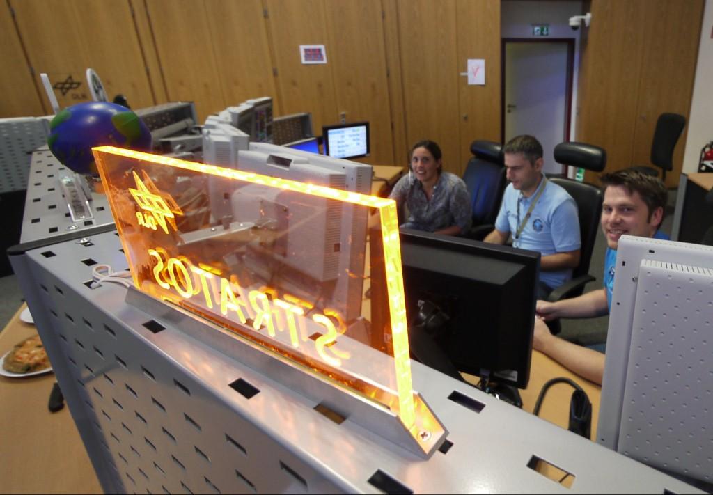 SRATOS team console. Credits: ESA–J. Harrod CC BY SA IGO 3.0