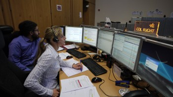 Katja and Sergio: Flight Directors. Credits: ESA–J. Harrod CC BY SA IGO 3.0