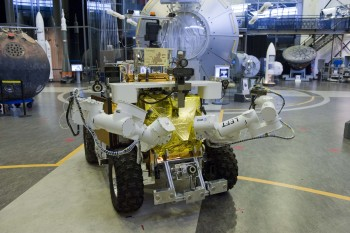 Eurobot used for Supvis-E. Credits: ESA