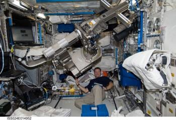 NASA astronaut Douglas Wheelock. Credits: NASA