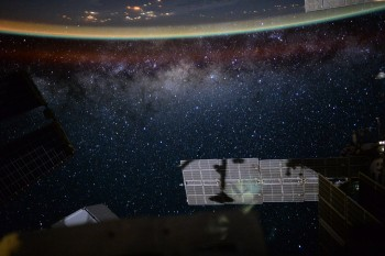 Is Earth up or down? Picture taken by Andreas Mogensen during iriss. Credits: ESA/NASA