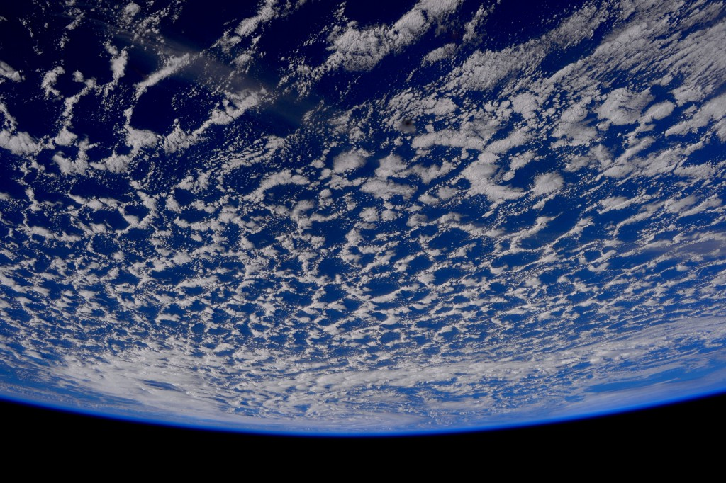 Spaceship Earth - as seen from the International Space Station ISS. Credit: ESA.