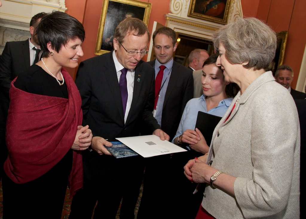 Meeting Theresa May. Credit: A Parsons/UK Prime Minister's Office.