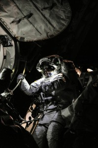NASA astronaut Chris Cassidy. Credits NASA