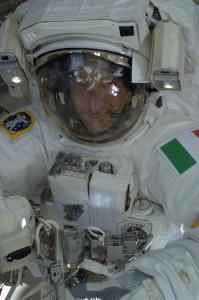 Luca smiling ESA