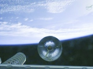 Cygnus separation. Credit: NASA
