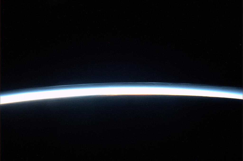 Sunrise from space. Credits: ESA/NASA