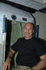 Luca's sleeping quarters Credits: ESA/NASA