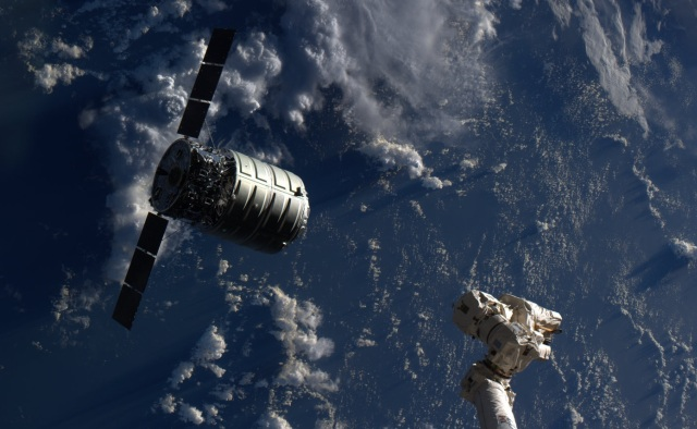 Cygnus and Canadarm2
