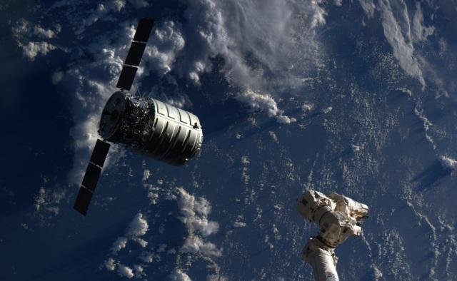 Cygnus and Canadarm2