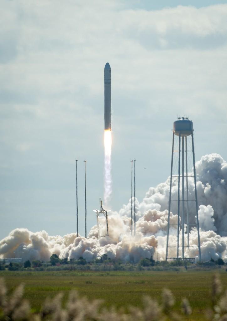 Cygnuscargo spacecraft  launch Credits NASA