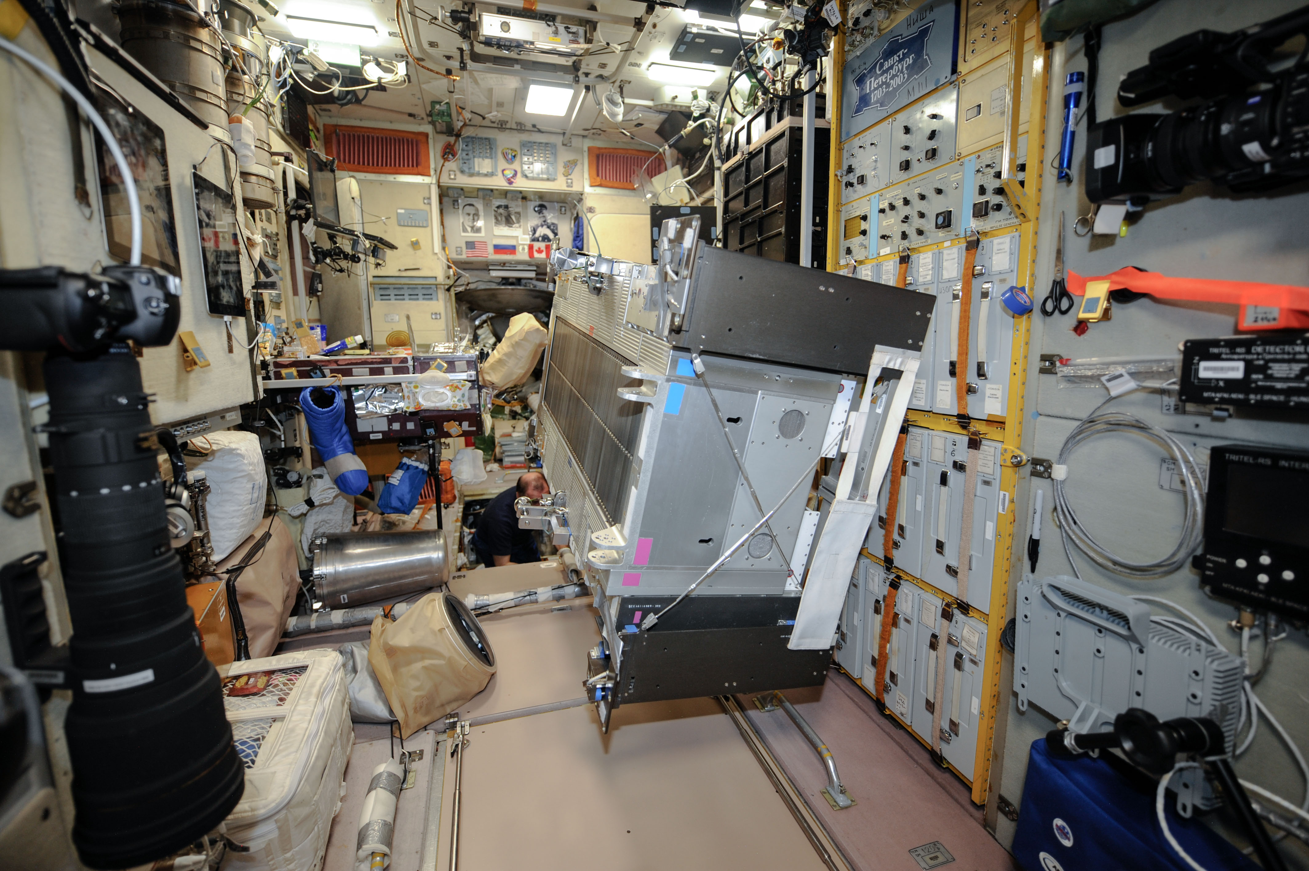 inside space station bed - photo #43