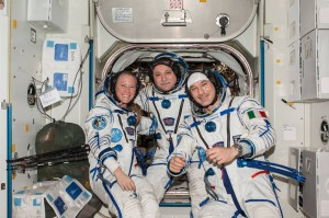 Karen, Fyodor and LUca are gearing up for their return to earth. Credits NASA