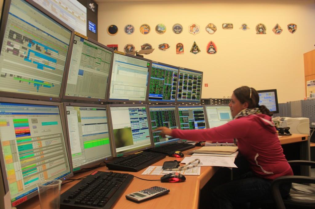Columbus Control Centre. Credits: ESA