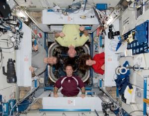 Crew quarters in Harmony. Credits NASA