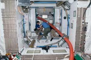 Inside Tranquility Credits: NASA