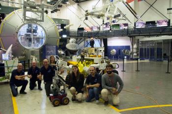 Ground team at ESTEC. Credits: ESA