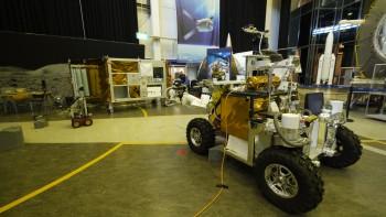 Eurobot at ESA's technical heart ESTEC in The Netherlands. Credits: ESA–J. Harrod CC BY SA IGO 3.0