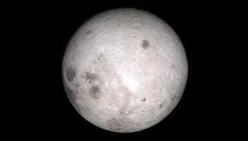 Far side of the Moon. Credits: NASA