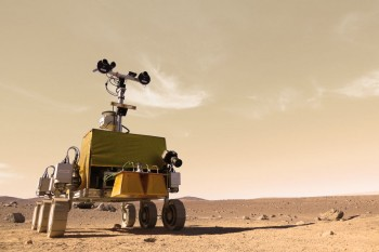 Bridget Rover that Tim Peake will drive from space (false colours). Credits: Airbus