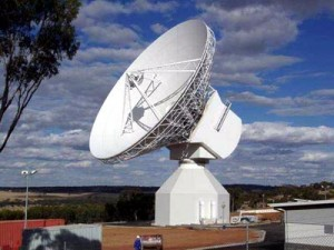 ESA's first 35-metre deep-space ground station is situated at New Norcia, 140 kilometres north of Perth in Australia. The 630 tonne antenna will be used to track Rosetta and Mars Express, the latter to be launched in 2003, as well as other missions in deep space. The ground station was officially opened on 5 March 2003 by the Premier of Western Australia, Hon Dr Geoff Gallop.  Credits: ESA
