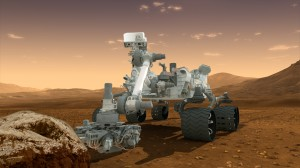 Curiosity - Robot Geologist and Chemist in One! Credit: NASA/JPL-Caltech