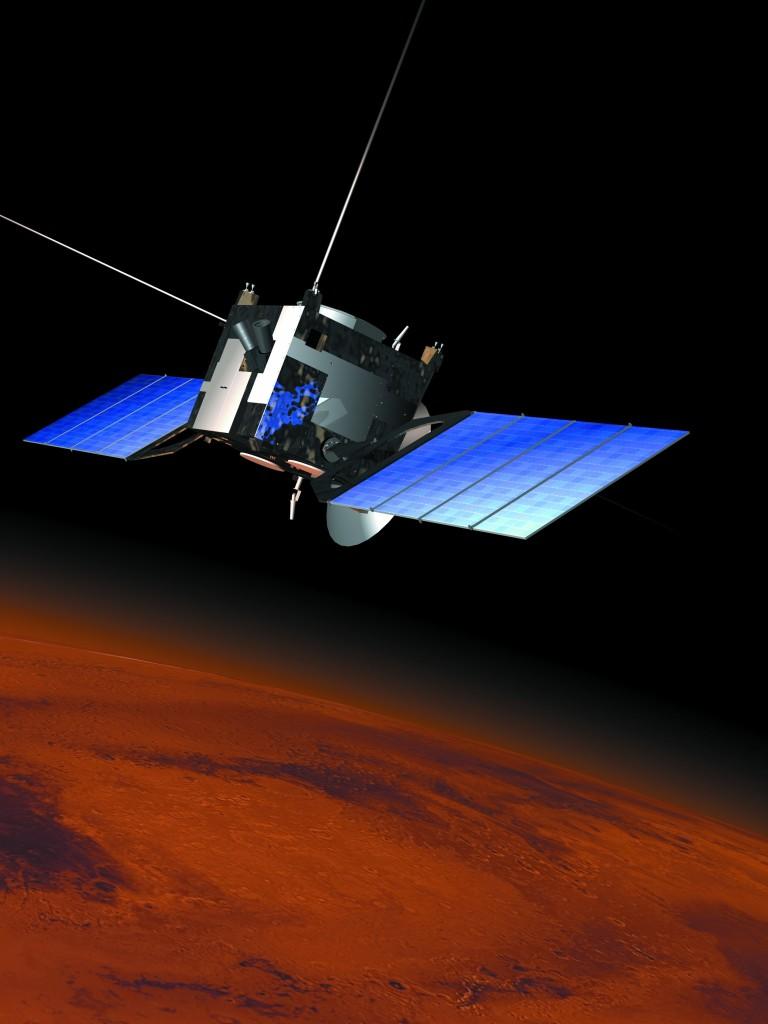 Mars Express Credit: ESA