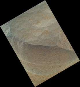 'Bathurst Inlet' Rock on Curiosity's Sol 54, Close-Up View Credit: NASA/JPL-Caltech/Malin Space Science Systems