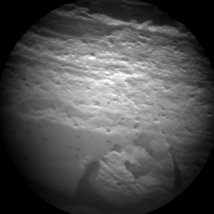 ChemCam image of Rocknest3 relayed by Mars Express Credit: NASA/JPL-Caltech/LANL/CNES/IRAP