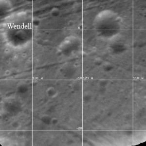 Wendell crater on Phobos