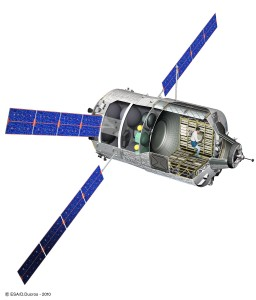 ATV-2 cutaway
