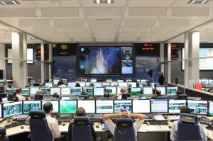ATV-2 lift-off on board Ariane 5 ES v200 - view from ATV-CC