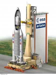ATV-2 on board Ariane 5