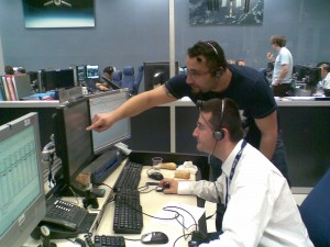 ATV-CC engineers assess relay communication slots