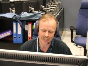 ESA's Adam Williams in video conference with UK school