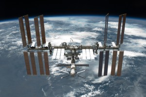 The International Space Station is featured in this image photographed by an STS-134 crew member on the space shuttle Endeavour after the station and shuttle began their post-undocking relative separation on 29 May 2011. Credit: NASA